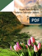 Nuestro Padre Fundador, Federico Salvador Ramón, poeta