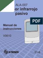 Sensor Infrarrojo Pasivo