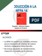 02. Presentación - Introducción a NFPA 14