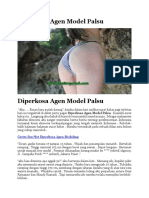 Diperkosa Agen Model Palsu