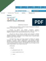 Hepatita Cronica Roxana 04.11.2016 Roxana Referat