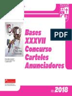 Bases Concurso Carteles Anunciadores 2018