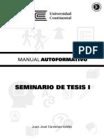 Manual Seminario de Tesis I A0423 2016