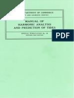 Manual of Harmonic Analysis