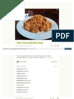 Cookpad Com Id Resep 4363044 Nasi Goreng Buntut Sapi