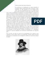 Aportaciones de Francis Bacon