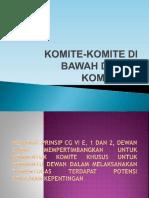 Komite-komite Di Bawah Dewan Komisaris