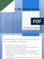 Cálculo de Medicação (2)