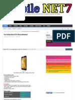 Cara Flashing Advan i5E Via Researchdownload