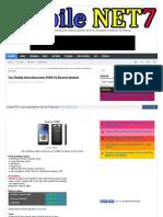 Cara Flashing Instal ulang Lenovo A1000 Via Research download