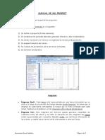 Pasos previos para hacer Diagramas de Gantt y de Pert con MS-Project