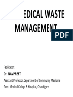 Biomedical Waste Management COLOR CODING