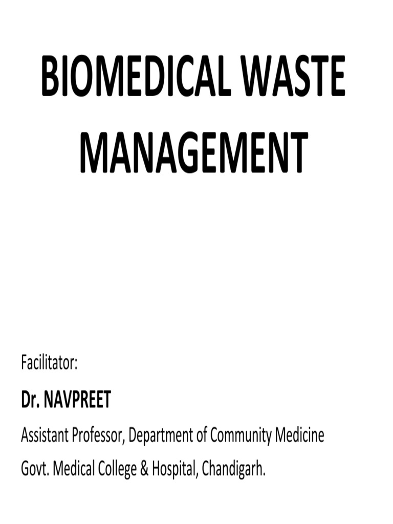 Biomedical waste management color coding incineration waste biocorpaavc