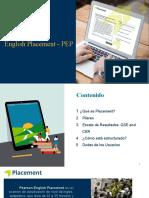 Ingles Presentacion Placement - Sensibilización (1)