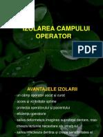 LP.3 Izolarea Campului Operator