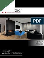 Katalog i Cennik 2018 Wklady Paleniska Godzic