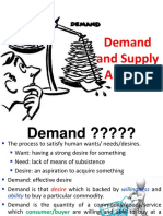 1 - Demand and Supply Analysis