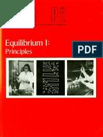 Unit P2 Equilibrium I Principles