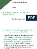 Aprendizaje musical en contextos diversificados.ppt