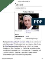 Richard Tarnas – Wikipédia, a enciclopédia livre