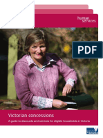 Victorian Concessions Guide 2012-2013 Oct2012