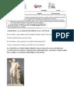 examen Historia del Arte 1ª evaluación