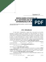 15 Cnacap913 Rezolvarea Ecuaţiilor Diferenţiale În Matlab Bun