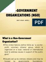 Report NGO