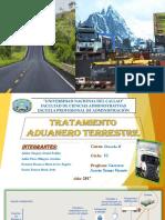 Tratamiento Aduanero Terrestre en El Peru.