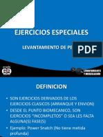 EJERCICIOS ESPECIALES