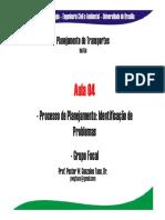 Aula 04 - Problemas de Transporte e Planejamento