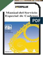 Manual Servicio Especial Cadenas Maquinaria Pesada Caterpillar