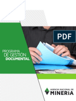Programa Gestion Documentalanm