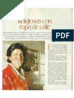 Religiosas Con Ropa de Calle Revsita Mujer, Publicado Año 2003.