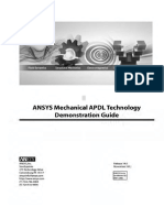 ANSYS Mechanical APDL Technology Demonstration Guide