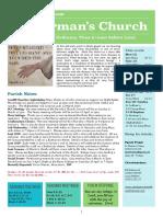 st germans newsletter - 11 feb 2018