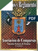 Estatutos y Reglamento. Asociación de Comparsas (2007)