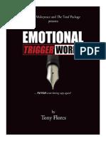 Emotional Trigger Words