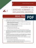 Historia de Los Derechos Humanos y La Declaración Universal