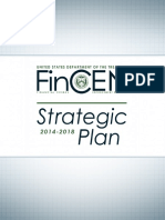 U.S. Department of Treasury Financial Crimes Enforcement Network (FinCEN) Strategic Plan 2014-2018