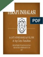 Terapi Inhalasi PIR 2017 SOLO Dr. Jatu