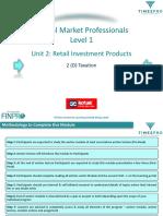 2d-CMP L1 Unit 2 Retail Investment Products 2(D)