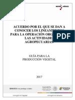 Anteproyecto Guia Produccion Vegetal Organica 15-09-17