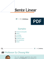 Robo Gradiente Linear