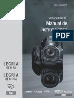 LEGRIA HF M56 506 Instruction Manual ES