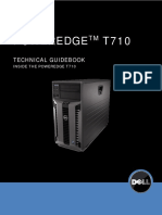 Server Poweredge t710 Technical Guide Book