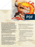 Way of the Elements Revised Monastic Tradition Mark Hulmes Tabletop Weekly