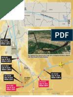 Path of Delta Flight 3567 to Medford Airport, Dec. 24, 2017