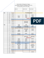 IIMN T3 Final Timetable