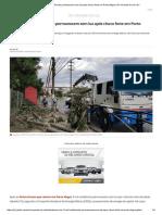 Cerca de 8 Mil Residências Permanecem Sem Luz Após Chuva Forte Em Porto Alegre _ Rio Grande Do Sul _ G1